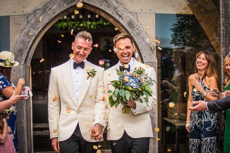 • LGBTQ+ Friendly Wedding