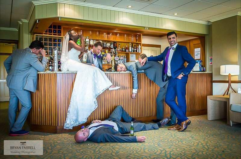 Garstang Country Hotel wedding